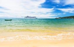 Beach in Buzios, Rio de Janeiro Royalty Free Stock Photos