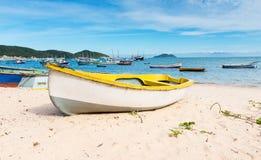 Beach in Buzios, Rio de Janeiro Royalty Free Stock Images