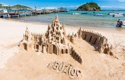 Beach in Buzios, Rio de Janeiro Stock Photography