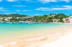 Beach in Buzios, Rio de Janeiro Stock Photos