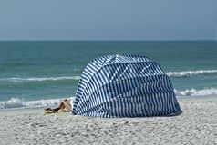 Beach Cabana Royalty Free Stock Photos