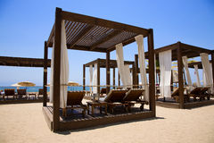 Beach Cabana Stock Photography