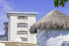 Beach Cabana Tiki Roof Royalty Free Stock Image