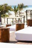 Beach cabanas Royalty Free Stock Photography