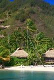 Beach cabin stock photo