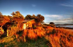 Beach Cabin Stock Image