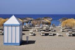 Beach cabin at Tenerife Stock Image