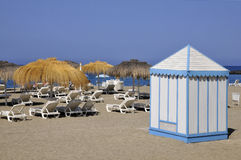 Beach cabin at Tenerife Royalty Free Stock Photography