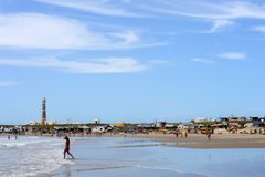 The beach of Cabo Polonio on Uruguay Royalty Free Stock Images