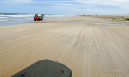 The beach of Cabo Polonio on Uruguay Stock Images
