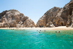 Beach in cabo san lucas Stock Photo