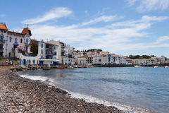 Beach in Cadaques, Spain Stock Photos