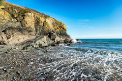 The Beach at Cadgwith Stock Image