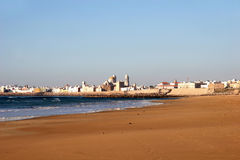 Beach of Cadiz, Spain Royalty Free Stock Photography