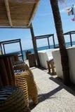 Beach cafe Stock Photography