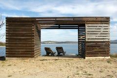 Beach cafe Royalty Free Stock Photo