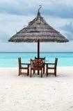 Beach cafe Stock Image