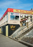 Beach Cafe in Norfolk, England Royalty Free Stock Photography