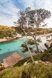 Beach of Cala Llombards Royalty Free Stock Images