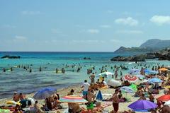 Beach of Cala Rajada. Mallorca, Spain royalty free stock photos
