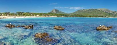 beach cala ratjada Stock Photo