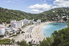 Beach of cala st Vincent Royalty Free Stock Photography