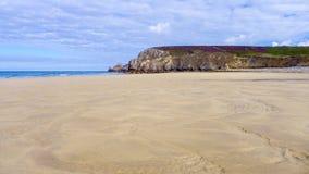 Beach Camaret-sur-Mer France Royalty Free Stock Image