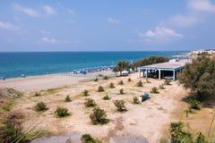 Beach in Campora San Giovani town Stock Photo
