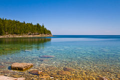 Beach in Canada Stock Photography