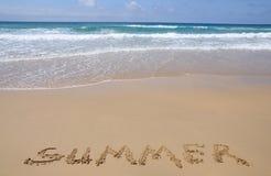 Beach on Canary Island Fuerteventura Stock Photos