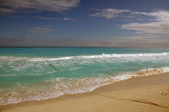 Beach Cancun / Mexico Royalty Free Stock Photography