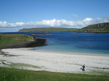Beach on Canna Stock Photos