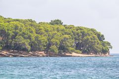 Beach Cap de Formentor, Mallorca, Spain. Beautiful Beach on Cap de Formentor with transparent water, Mallorca, Spain Stock Images