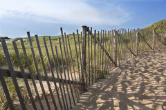 Beach on Cape Cod in Massachusetts Stock Photo