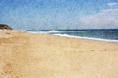 Beach on Cape Cod Royalty Free Stock Photography