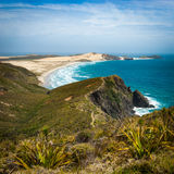 Beach at Cape Reinga Royalty Free Stock Photography