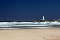 Beach of Cape St. Francis, South Africa Stock Photos