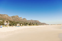 Beach in Cape Town, South Africa Stock Photos