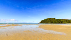 Beach at Cape Tribulation Royalty Free Stock Images