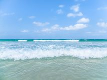 Beach in Cape Verde Islands royalty free stock image