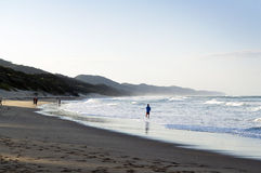 Beach at cape vidal Stock Images
