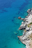 Beach in Capri Royalty Free Stock Photography