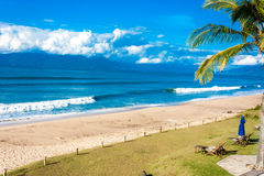 Beach in Caraguatatuba in Sao Paulo, Brazil Stock Image