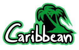 Beach Caribbean Stock Photo