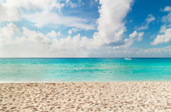 Beach of Caribbean Sea Stock Image