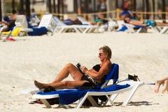 Beach of the Caribbean Sea Royalty Free Stock Photography