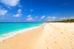 Beach at Caribbean sea in Mexico. Beach at Caribbean sea in Playa del Carmen, Mexico Stock Image