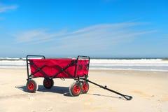 Beach cart Royalty Free Stock Photo