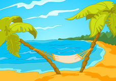Beach Cartoon Stock Photos