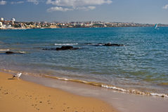 Beach in Cascais Stock Images